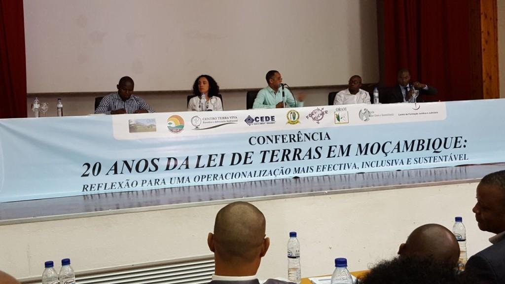 Oradores da conferência