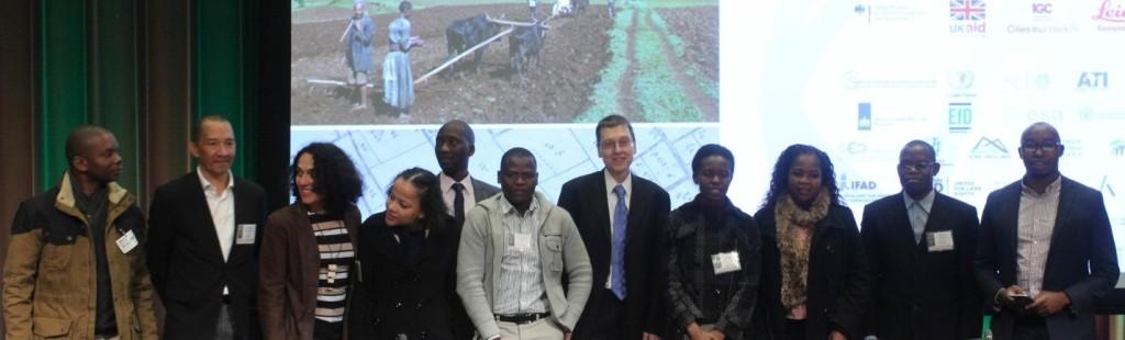 Representantes da EXI, DINAT e ITC na Conferência do Banco Mundial sobre Terra e Pobreza