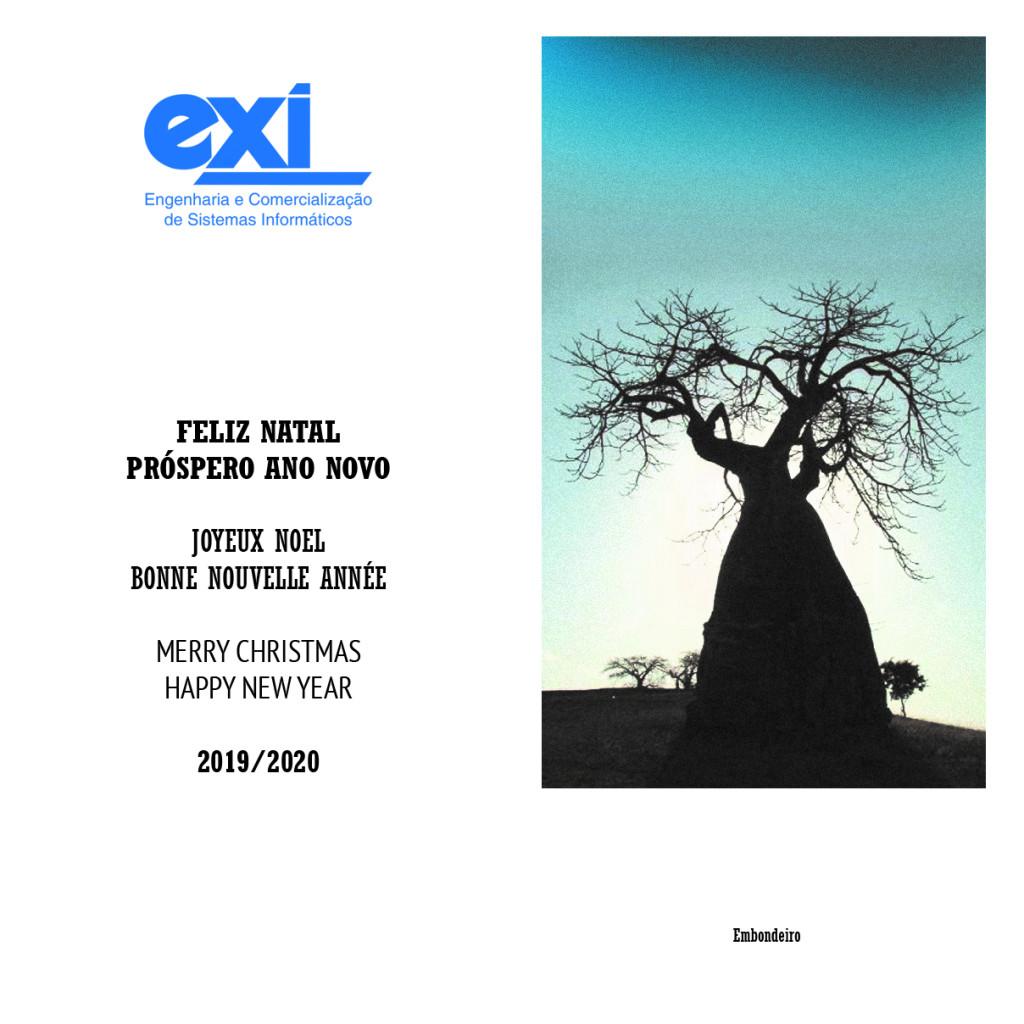 Boas Festas EXI - Feliz 2020